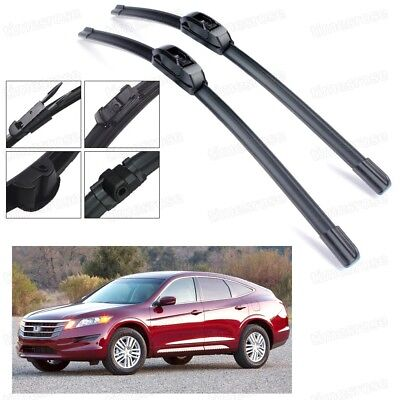 "Car Windshield Wiper Blades Bracketless 26"" 19"" for Accord Crosstour 2010-2015"