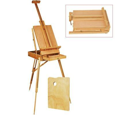 French Easel Sketch Box Portable Tripod Display Art&Craft Artist Studio Painting