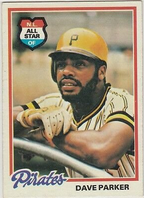 Topps 1978 #560 Dave Parker-Pittsburgh Pirates
