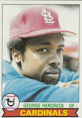 Topps 1979 #175 George Hendrick-St. Louis Cardinals