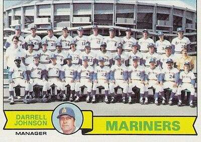 Topps 1979 #659 Seattle Mariners Team Card