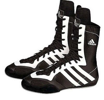mens black adidas tygun II 2 boxing trainers boots uk 10 immaculate