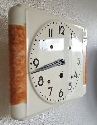 Kitchen Wall Clock Vintage 8 Day With Pendulum Key Vintage 1960s