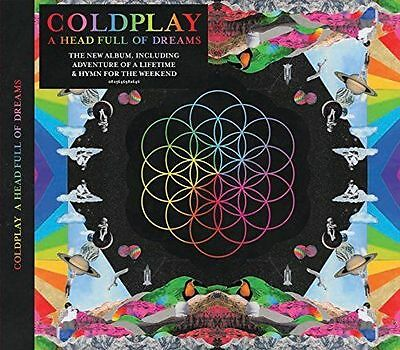 Coldplay - A Head Full Of Dreams (Brand New Sealed Cd)