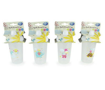 Toddler Sipper Cup Spill Proof 10oz 295ml Patchwork Animal Friends BPA Free
