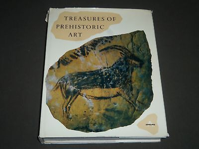 1967 Treasures Of Prehistoric Art By Andre Leroe-Gourhan Book - I 1029