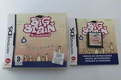 Nintendo Ds Nds Big Brain Academy Ds Completo Pal España