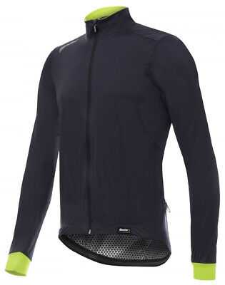 Santini SMS Guard 3.0 Bike Jacket Grey/Yellow 2018