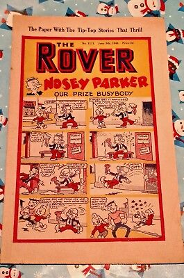 The ROVER Comic 1945 June 9th.(beano dandy)D.C.Thomson
