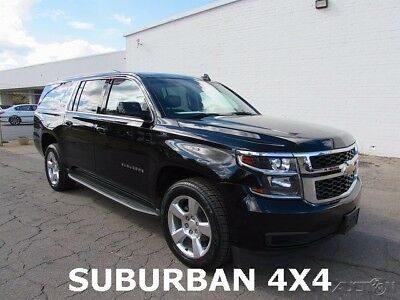 2016 Chevrolet Suburban LT 2016 Chevrolet Suburban LT SUV Used 5.3L V8 16V Automatic 4WD