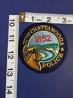 Chattanooga Tennessee Police Department Shoulder Patch