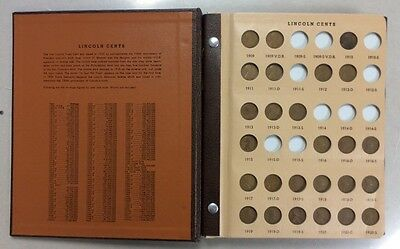 Lincoln Cent Collection 1909-1977 (164 Coins) In Deluxe Dansco Album