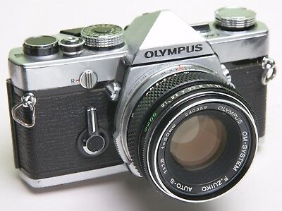 OLYMPUS OM1 35mm SLR - WORKING CONDITION - GREAT STUDENT/STARTER CAMERA