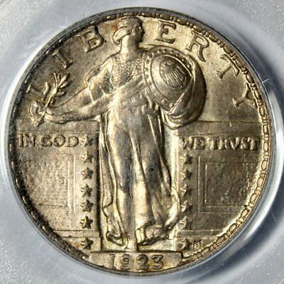 1923 Standing Liberty Quarter * PCGS MS 62 FH * FULL HEAD Beauty * FREE SHIPPING