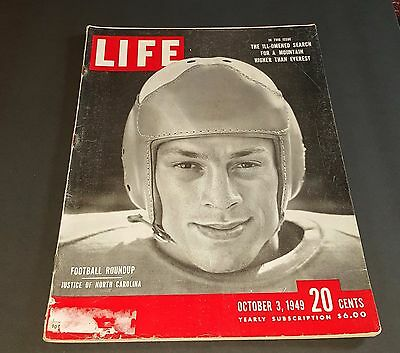 October 3, 1949 LIFE Magazine 40s Advertising ads add ad  FREE SHIPPING Oct 10