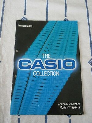 Casio Uhrenkatalog - 1984 - General Catalog - The Casio Collection