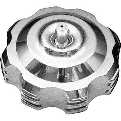 Silver 45 Degree Step Modquad Gas Cap with Breather Valve - GC1-6