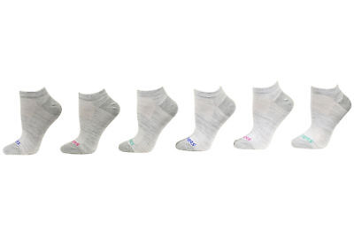 Skechers Girl's 6-Pairs Lightweight Low Cut Socks