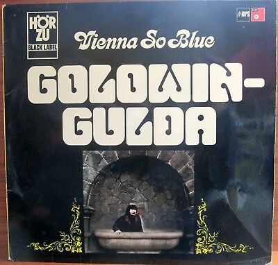 Lp - Golowin / Gulda  = Vienna So Blue ...............1969  (Jazz - Mps - Hörzu)