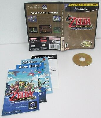 LEGEND OF ZELDA THE WIND WAKER - Nintendo GameCube Game Very Good Link RPG