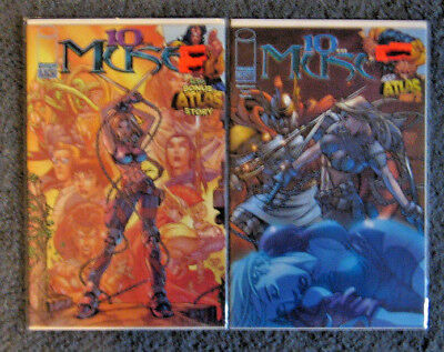 Lot of 2 10th MUSE Comic Books