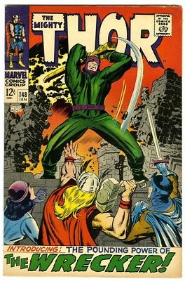 Thor #148 (1968) Fine New Original Owner Marvel Comics Collection