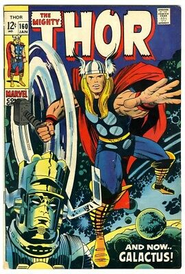 Thor #160 (1969) Fine New Original Owner Marvel Comics Collection