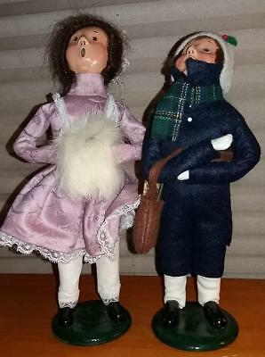 (2) Byers' Choice THE CAROLERS Figurines