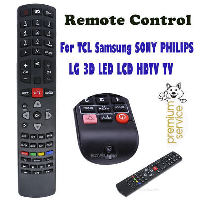 Universal Original Smart Remote Control For TCL Samsung SONY LG 3D LED LCD HD TV
