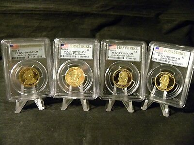 2008 S Proof Presidential Dollar Set PCGS Proof 69 DCAM First Strike