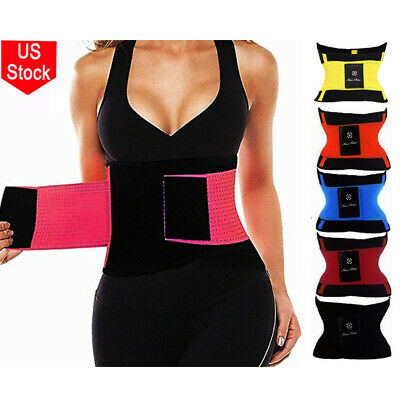 Xtreme Hot Power Belt Thermo Waist Trainer Cincher Body Shaper Slim Tummy Corset