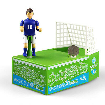 Electric Cartoon Football Piggy Bank Money Saving Coin Box Kids Child Xmas Gift