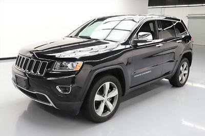 2014 Jeep Grand Cherokee Limited Sport Utility 4-Door 2014 JEEP GRAND CHEROKEE LTD 4X4 SUNROOF NAV 20'S 28K #540157 Texas Direct Auto