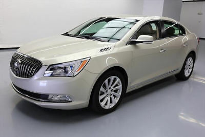 2015 Buick Lacrosse Leather Sedan 4-Door 2015 BUICK LACROSSE LEATHER HTD SEATS REAR CAM 33K MI #225808 Texas Direct Auto