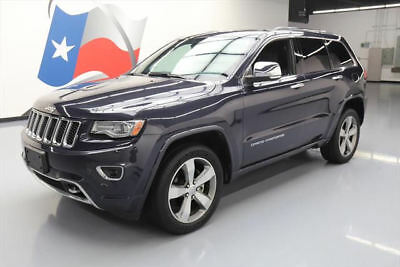 2014 Jeep Grand Cherokee Overland Sport Utility 4-Door 2014 JEEP GRAND CHEROKEE OVERLAND HEMI PANO NAV 26K MI #330874 Texas Direct Auto