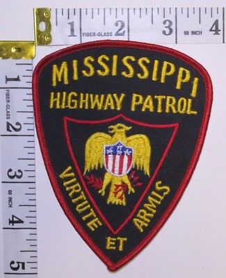 Mississippi Highway Patrol Shoulder Patch