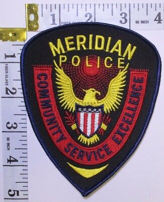 Meridian Mississippi Police Department Shoulder Patch