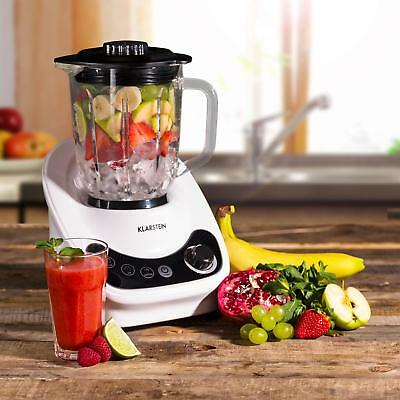 [B-WARE] 800 W Glas Edelstahl Standmixer Ice Crusher Smoothie Maker