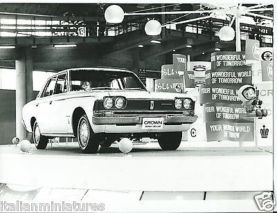 Toyota Crown Super De Luxe Wonderful World of Tomorrow Exhibition Photograph