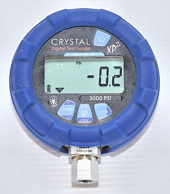 Crystal XP2i 3000psi Ex Digital Pressure Gauge Intrinsically Safe - 316 Marine