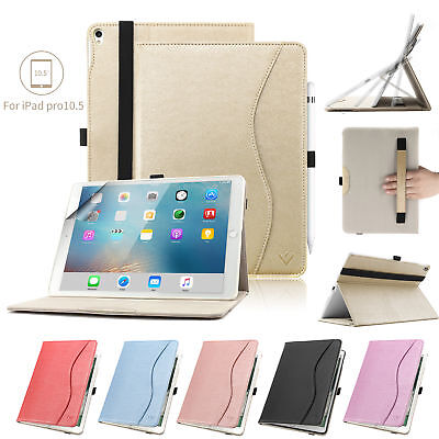 KVAGO Leather Folio Case Smart Stand Cover Magnetic For Apple iPad Pro 10.5""