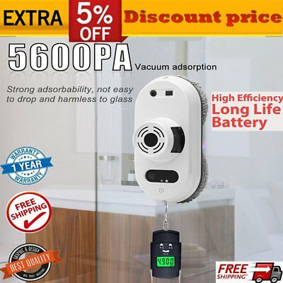 Smart Window Cleaning Robot Cleaner Strong Adsorption Automatic Cleaning Tool GU