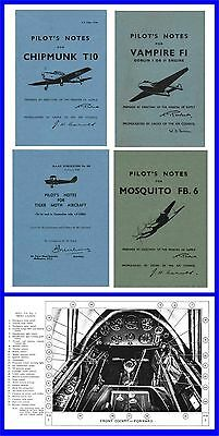 Pilots Notes - Tiger Moth Mosquito Chipmunk Vampire CD