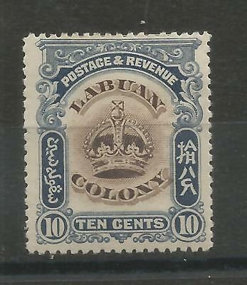 One Penny Sale A Nice Labuan 1902 10c Mint Issue