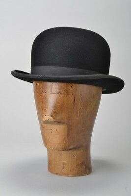 Foxhunter's 1950s' s6 7/8 Hard Bowler Hat in Later Lock & Co London Box. DVW