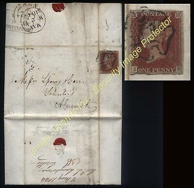 1844  Letter REVEREND THOMAS LANGHORNE, Musselburgh, founder LORETTO SCHOOL