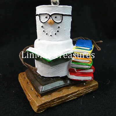S'mores Book Club Ornament Midwest CBK