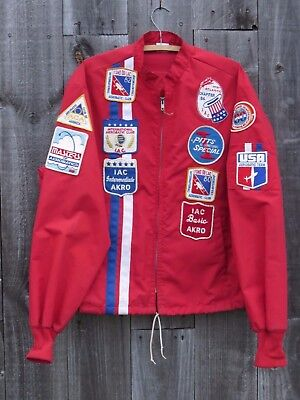 1980's USA Aerobatic Competition Pilot's Jacket & Patches - Named