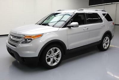 2014 Ford Explorer Limited Sport Utility 4-Door 2014 FORD EXPLORER LIMITED 7-PASS LEATHER REAR CAM 62k #B64258 Texas Direct Auto