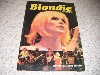 Blondie Gift Book Official Fan Club Edition:1980